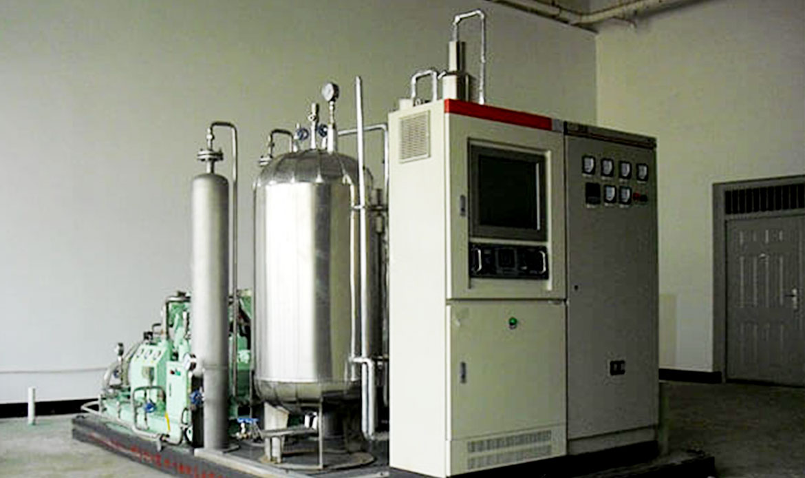 CO2 Generator from Carbon-Contained Fuel-CO4 Recovery Plant