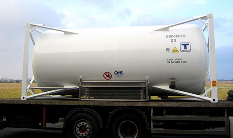 Cryogenic liquid storage tank & Cryogenic Transport Trailer