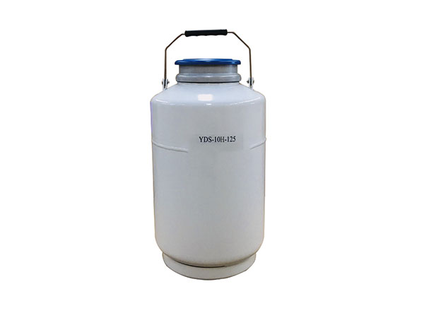 Cryogenic-liquid-nitrogen-portable-container-Aluminum-alloy-series-YDS-10H-125