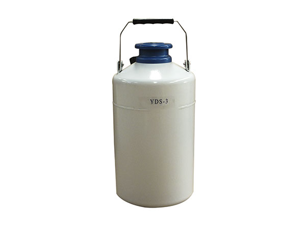 Cryogenic-liquid-nitrogen-portable-container-Aluminum-alloy-series-YDS-3