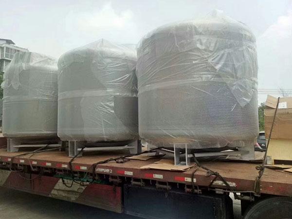 Cryogenic-liquid-nitrogen-portable-container-Marine tank