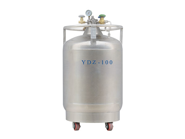 Cryogenic-liquid-nitrogen-portable-container-Self-boosting-series-YDZ-100