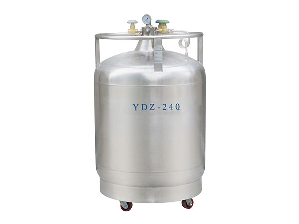 Cryogenic-liquid-nitrogen-portable-container-Self-boosting-series-YDZ-240