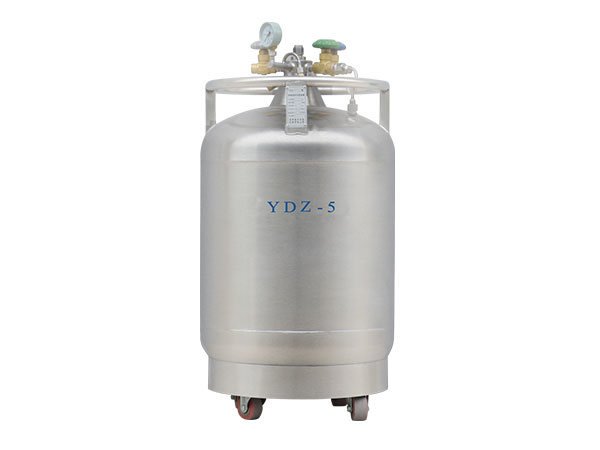 Cryogenic-liquid-nitrogen-portable-container-Self-boosting-series-YDZ-5